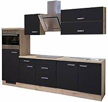 MMR Küchenzeile LONDON - mit E-Geräten -
