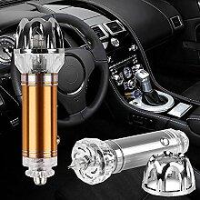 Mmrm Die neueste Technologie Mini Ausgabe Anionen Auto Air Luftreiniger Ionisator JO-6281 Auto Luft frischer Gold