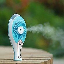 Mmrm (TM) wiederaufladbare usb - gebühr luftbefeuchter kühlung mini - fan luft misty ventilator mit wassertank