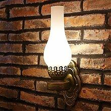 MMYNL Moderne E27 Antik Wandlampe Vintage