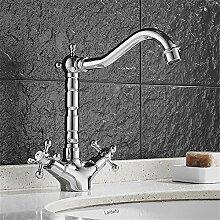 MMYNL Moderne voll Kupfer Warmes und kaltes Wasser