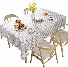 MNBKJBN Linoleum Tischdecke Wachs Tischdecken