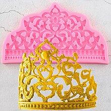 MNBVC 3D Craft Cake Border Silikonformen Hochzeit