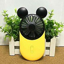 Mnbvcxzey Mini-Ventilator mit einer tragbaren