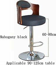 MNII Bar Stuhl Stuhl Synthetik / Leinen