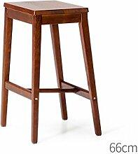 MNII Hocker Barhocker Retro Massivholz tafel Pedal