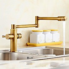 MNLMJ Küchenarmatur, modern, aus Kupfer, einfach,