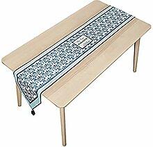 MNS Einfachheit Tischläufer, Plüsch Stoff Für