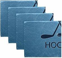 MNSRUU Eishockeyschläger und Puck