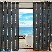 Mnsruu Fenster Gardinen Pfeil Hintergrund Home