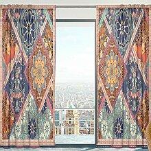 Mnsruu Fenster Gardinen, Vintage indischen