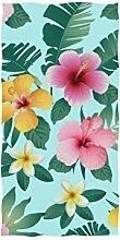 Mnsruu Handtuch, Blumenmuster, Handtücher für