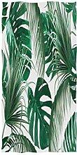 Mnsruu Handtuch mit tropischen Palmenblättern,
