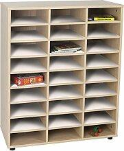 Mobeduc Regal Aufbewahrungsbox mit 27Fächern,