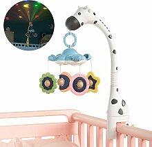 Mobile Babybett Mädchen 3 in 1 Kann Mit Projektor