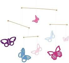 Mobile Bunte Schmetterlinge