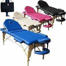 Mobile Massagetisch Massageliege Massagebank 3