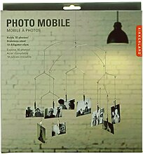 Mobile Photo Fotohalter für 10 Fotos - Memohalter hängend für 10 Fotos
