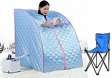 Mobile Sauna Mini Dampfsauna Heimsauna