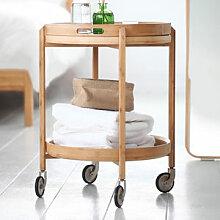 Mobiler Designer-Beistelltisch mit abnehmbarem