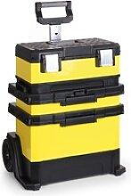 Mobiler werkzeugtrolley – 56 x 40 x 72,5 cm