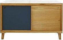 Mobili Rebecca® Fernsehtisch Kaffeetisch 2 Türen
