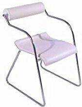 mobilier nitro Stuhl Design Weiß Barcelona X4