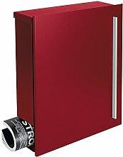 MOCAVI Box 110 Design-Briefkasten rot mit