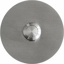 MOCAVI RING 120 Edelstahl-Design-Klingel V2A rund