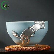 mocer Porzellan Tee Tasse Kaffee Büro Tasse RU