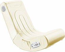 Mod-it Sessel: Soundsessel mit 2.1-System für Gaming und Musik (weiß) (Lautsprecher Sessel)