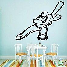 Mode Baseball Kunst Aufkleber Wasserdichte