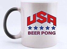 Mode coole USA Bier Pong Five Stars (Twin Side)