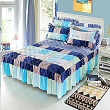 Mode Dicker Baumwolle Kissen, Mehrfarben, Multi-Größe,Blue-120*200Cm
