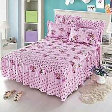 Mode Dicker Baumwolle Kissen, Mehrfarben, Multi-Größe,LightPurple-150*200Cm