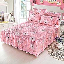 Mode Dicker Baumwolle Kissen, Mehrfarben, Multi-Größe,Pink-120*200Cm