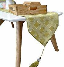 Mode einfach tischläufer/couchtisch tischläufer/bett-runner-A 30x180cm(12x71inch)