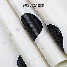 Mode, einfache Vliestapeten, Schwarz und Weiß Wohnzimmer Tapeten, Fernsehen Hintergrund Mauer, Kreis, streifen Tapete, Umweltschutz, europäischen Stil, schwarze und weiße Asche