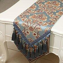Mode einfachen Tischl?ufer/?stliches Mittelmeer Esstisch Couchtisch Flagge/Bett-banner-H 33x180cm(13x71inch)