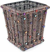Mode Eisen Mülleimer Handgemachte Perlen