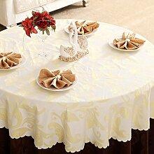 Mode,Europäisch,Hotels,Tischdecke/Tabelle Tuch,Runde Tischdecke,Kaffee Tischdecke-A Durchmesser280cm(110inch)