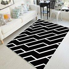 Mode geometrische Figur Teppich / Wohnzimmer Sofa Couchtisch Teppich / Schlafzimmer Nachttisch Teppich / Studie Halle Matte ( größe : 100*100cm )