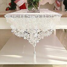 Mode-Han Shilei-Tisch-Tischl?ufer/Einfache Couchtisch Quaste Anh?nger Tischl?ufer-A 42x120cm(17x47inch)
