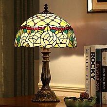 Mode Hochzeitsgeschenk/Schlafzimmer Bett Lampe/Kreative,Festlich,Ländlichen,Europäische Tischleuchte-A