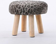 Mode Hocker Massivholz einfache kleine Sitzbank ändern Schuh Hocker sofa Hocker kreative niedrigen Hocker abnehmbaren kleinen Hocker, A, 30 * 28 cm