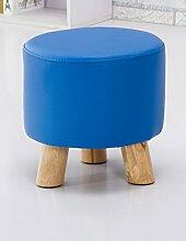 Mode kleinen runden Hocker Kreativer Couchtisch Stuhl Kinderhocker Einfache Wohnzimmer Heimnagel Sitzen Pier Sofa Hocker (Farbe wahlweise freigestellt) ( farbe : #3 )