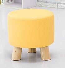 Mode kleinen runden Hocker Kreativer Couchtisch Stuhl Kinderhocker Einfache Wohnzimmer Heimnagel Sitzen Pier Sofa Hocker (Farbe wahlweise freigestellt) ( farbe : # 6 )