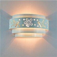 Mode kreativ-LED LED-Lampe am Bett Schlafzimmer eiserne Wand led hotel zimmer Wandleuchte, Breite 250 mm, Höhe 150 mm