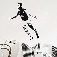 Mode kreative Wandaufkleber Fußballspieler