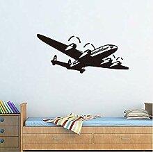 Mode kreative Wandaufkleber Kinderflugzeug